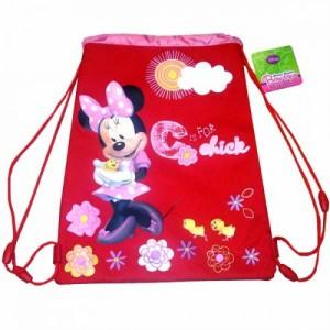 Рюкзак для обуви Minnie (Минни) красный, 35 см