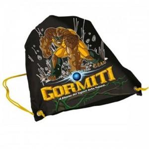 Рюкзак для обуви Gormiti (Гормити) черный для мальчика