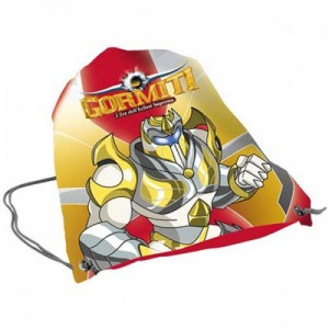 Рюкзак для обуви Gormiti (Гормити) желтый