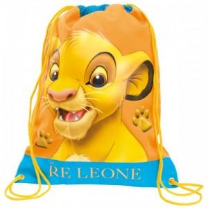 Рюкзак для обуви Lion King (Король Лев) желтый 24 см