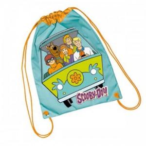 Рюкзак для обуви Scooby Doo (Скуби Ду) голубой, 42 см