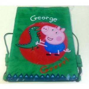 Рюкзак для обуви Свинка Пеппа, мешок для спортивной одежды