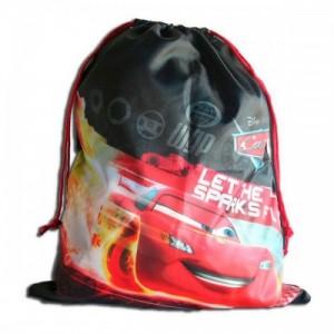 Рюкзак для обуви Cars (Тачки) спортивный черный, 38,5 см