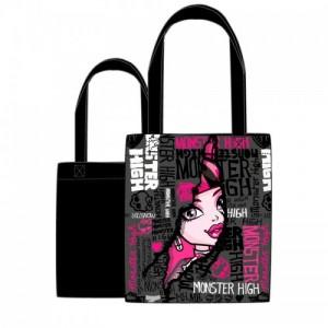 Monster High - сумка для покупок Draculaura чёрная