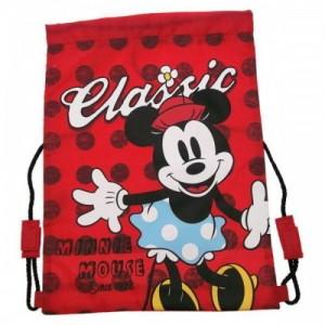 Рюкзак для обуви Minnie красный для девочки