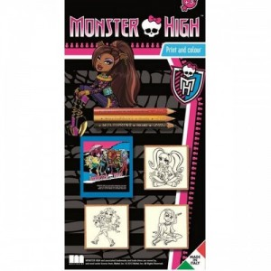 Monster High - мини-набор печатей