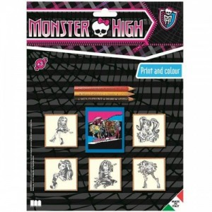 Monster High - набор 5 печатей